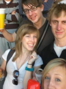 Ben, Frank, Marisa, and I