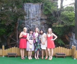 The lady crew, post wedding.