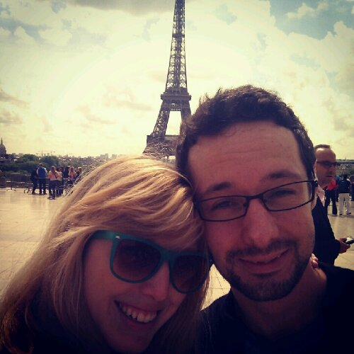 Jon and Ashley + Eiffel Tower